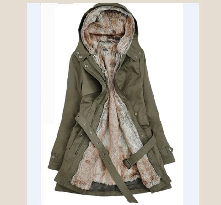 Very warm girl coat jacket