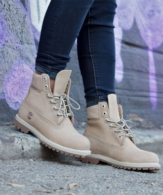 shoes tan timberlands off white/white canvas shoes