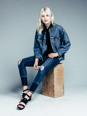 fire on the head,blogger,blouse,jacket,jeans,shoes