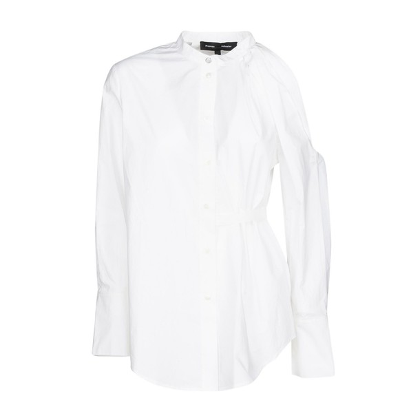 Proenza Schouler shirt button down shirt white top