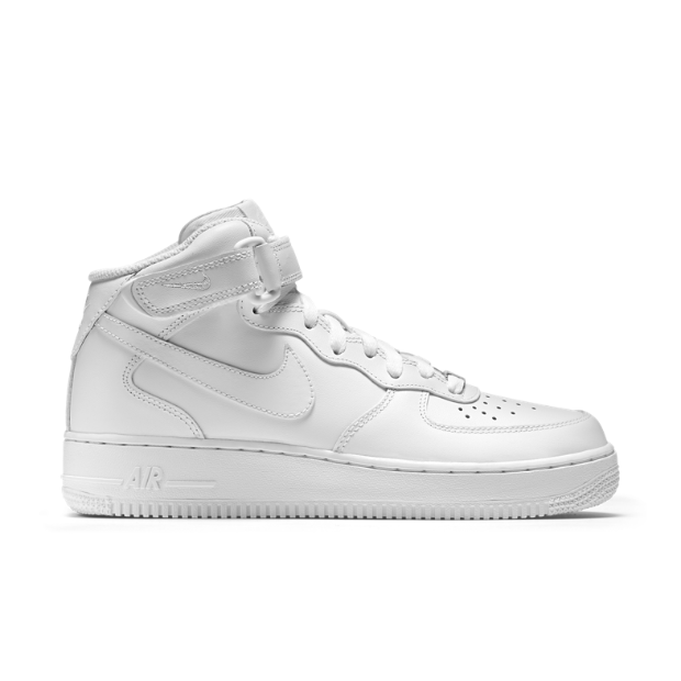 The Nike Air Force 1 Mid 07 Leather Women's Shoe.