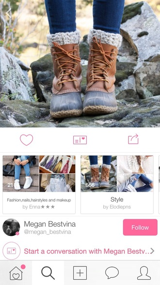 shoes boots warm winter boots winter swag swag top beautiful cute tumblr tumblr girl tumblr shoes duck boots