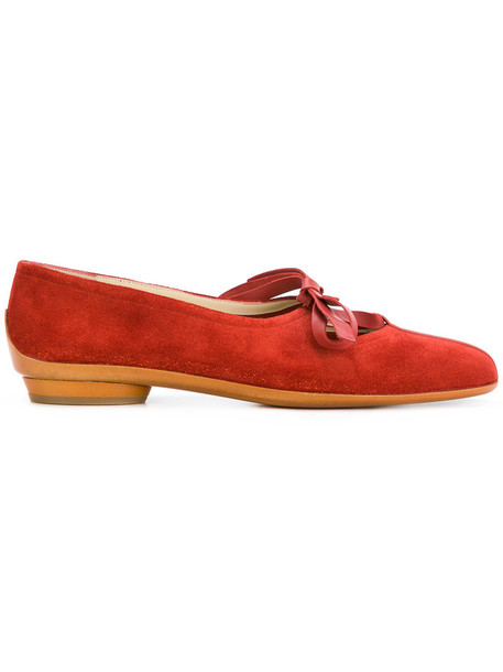 bow women pumps leather suede red shoes