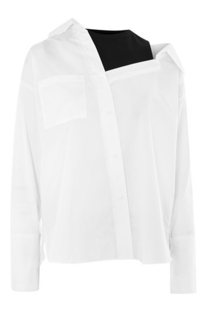 Topshop shirt white top