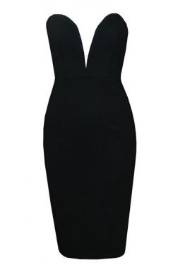 Bustier Party Pencil Dress