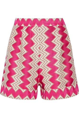 shorts knit crochet