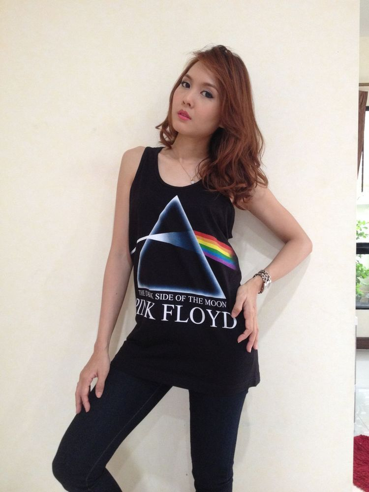 b7a5702e389b20 Pink Floyd Dark side of the moon Women s T-Shirt Tank Top Vest ...