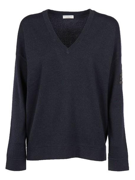 BRUNELLO CUCINELLI sweater navy