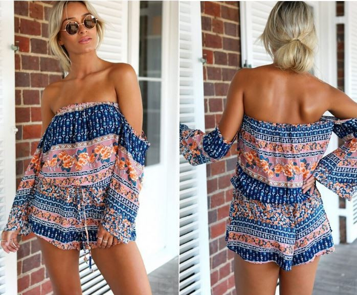 Clarita Romper – Dream Closet Couture