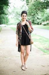 life & messy hair,blogger,romper,shoes,bag,black romper,h&m,nordstrom,gucci bag,streetstyle