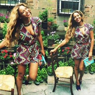 beyoncé african dress beautiful mrs carter happy birthday blue ivy model singer clutch 34 september houston texas american flag