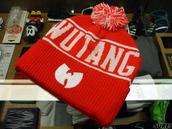 hat,wu-tang clan,beanie,skully,knit hat,rocksmith,hip hop,pom pom beanie