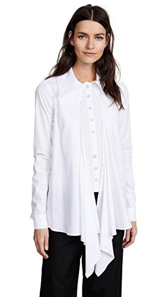 Paper London shirt white top