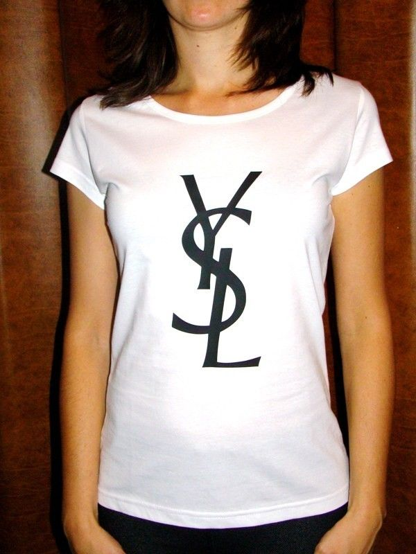 Sale Excusive Ysl Yves Saint Laurent T Shirt Brand
