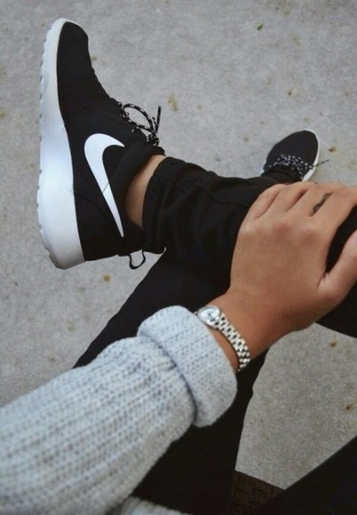 shoes black shoes nike roshe run nike style fitness nike nike black