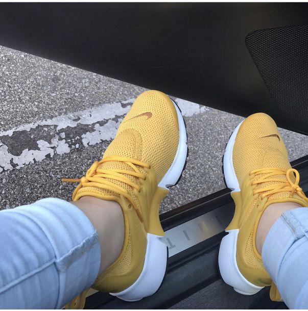 Mustard Nike Shoes