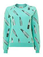 Lipstick sweat shirt