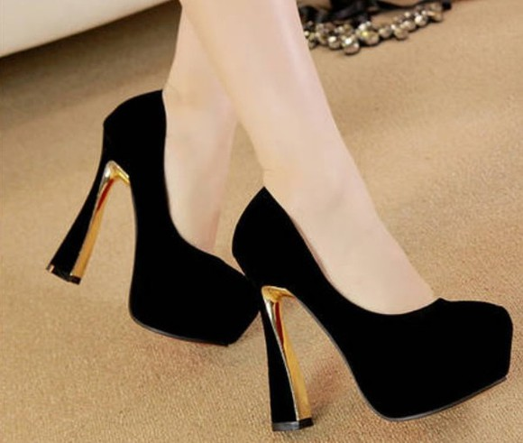 shoes high heels pump fashion women