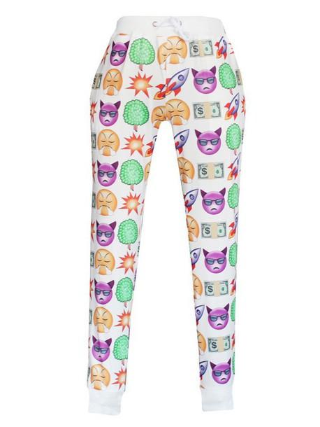 pants pants 2015 pant emoji print emiji print emoji prieted spring pants emoji pants emoji pants
