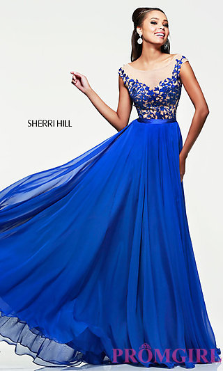 Evening Gown for Prom, Sherri Hill Prom Dress- PromGirl