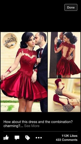 dress red dress red lace dress sexy dress sexy