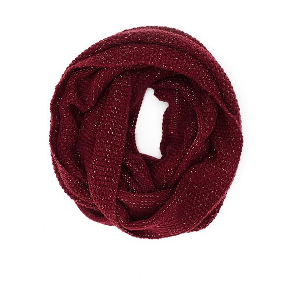 Sparkle Knit Infinity Scarf - 2b - Polyvore