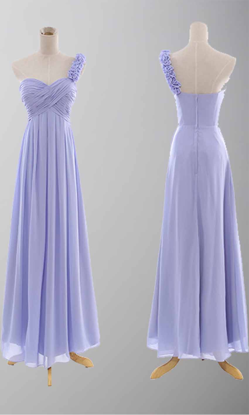 Delicate Asymmetric Empire One Shoulder Dress For Wedding KSP084 [KSP084] - £89.00 : Cheap Prom Dresses Uk, Bridesmaid Dresses, 2014 Prom & Evening Dresses, Look for cheap elegant prom dresses 2014, cocktail gowns, or dresses for special occasions? kissprom.co.uk offers various bridesmaid dresses, evening dress, free shipping to UK etc.