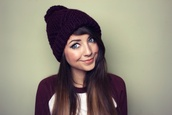 zoella,clothes,girl shirts,beanie,pretty