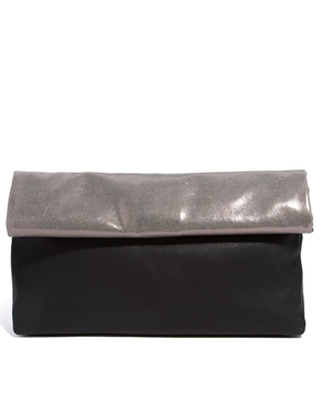 New Look | New Look Paper Bag Clutch Bag at ASOS