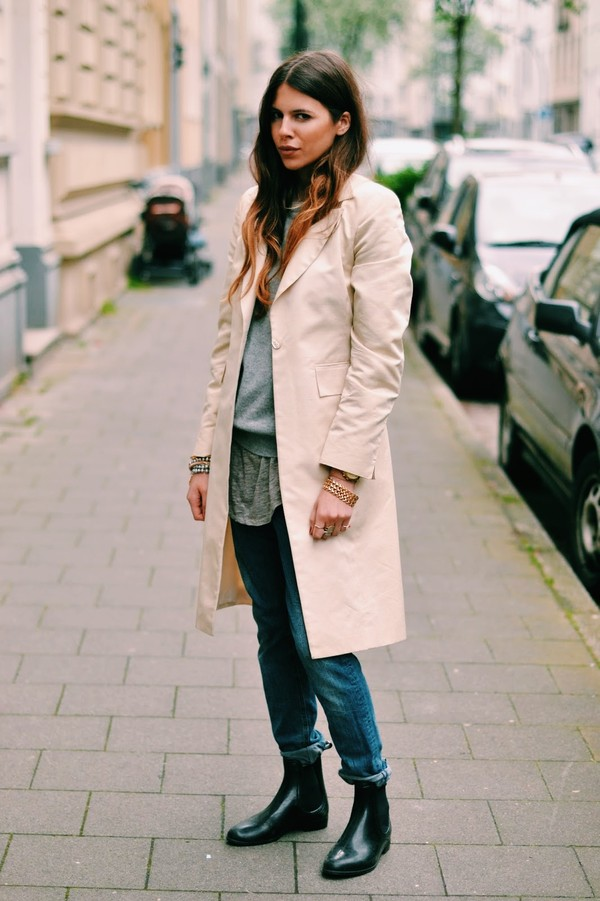 maja wyh coat sweater jeans
