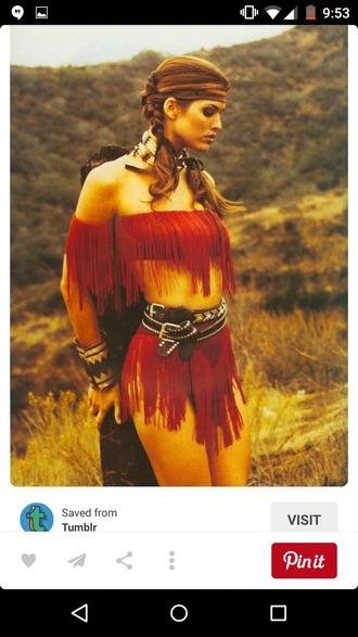 dress costume native american halloween sexy costume