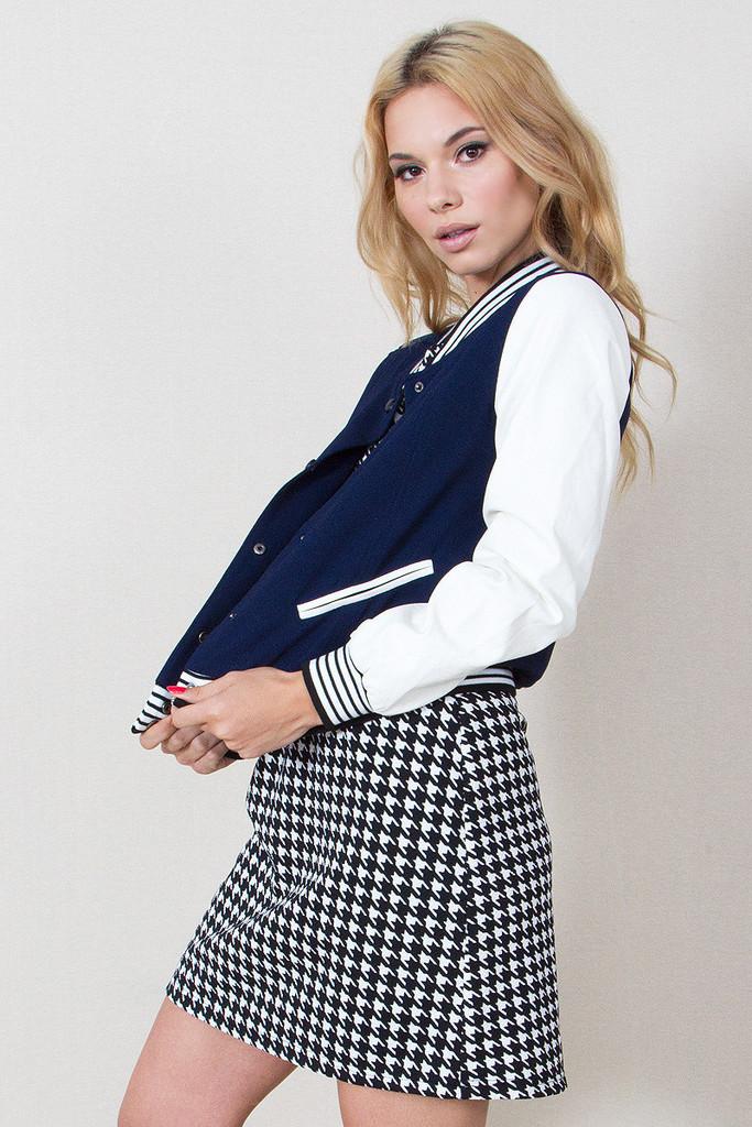 Varsity blues jacket