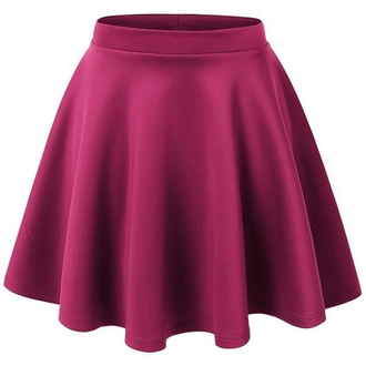 skirt burgundy skirt skater skirt red lime sunday