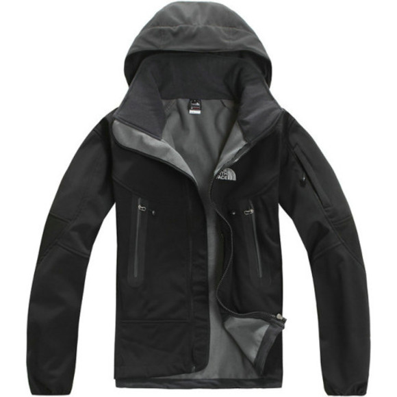 black jacket 2013 the best coat north face windstopper jacket men