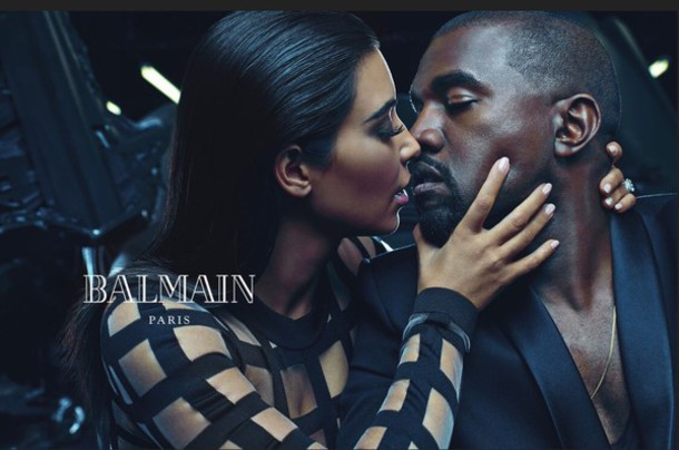 dress couture dress fashion kanye west celebrity balmain