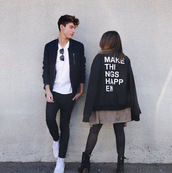 jacket,thatsojack,coat,jennxpenn,jenn mcallister,sweater,unisex,youtuber,youtube