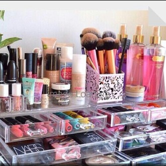 home accessory make up box beauty organizer