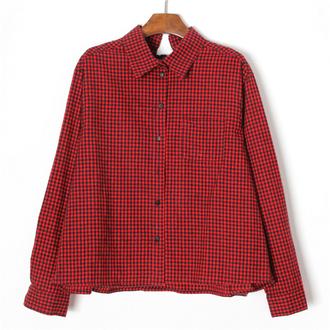 korea korean fashion stylenanda shirt top blouse mcclaugherty manila philippines koreanfashion asianfashion asian stylenandaoverrun flannel plaids redplaidtop redplaid redtop redblouse stylenandafashion