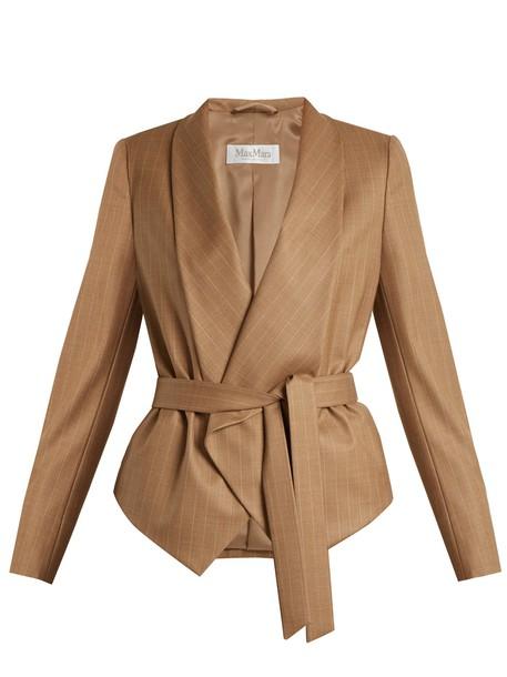 Max Mara jacket brown