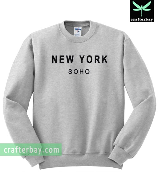 New York Soho unisex Sweatshirt