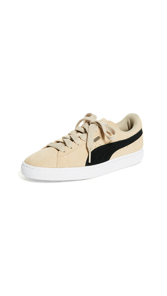 classic sneakers suede black shoes