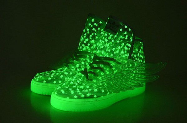 Adidas Wing Shoes Glow In The Dark
