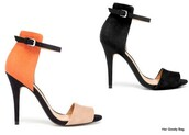 shoes,sandals,zara,black,two strap heels,heel,stap
