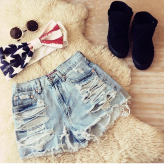 crop tops top america short boots sun gl sunglasses