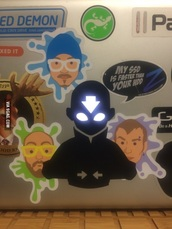 home accessory,laptop stickers,stickers
