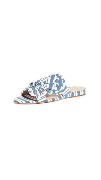 Schutz blue shoes