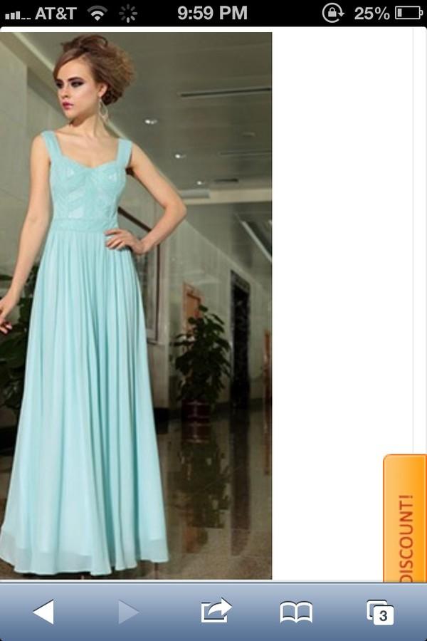 dress mint long ball gown dress mint dress long dress prom dress