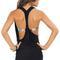 Luli fama black t-back mini dress