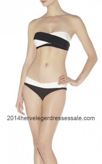 Herve Leger Erika Colorblock Bandage Swimsuit 2014 for Cheap [Colorblock Herve Leger Swimsuit] - $106.00 : 2014 Herve Leger | Cheap Herve Leger