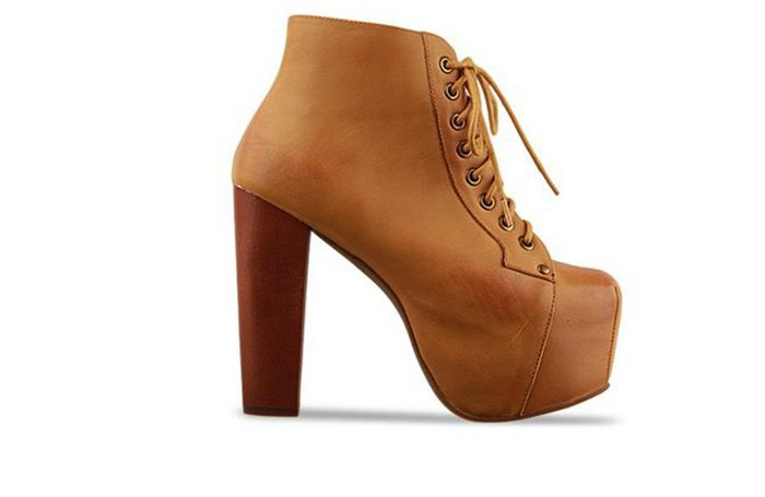 2013 Women Martin Boots Jeffrey Campbell imitation Size 35 40 High Heel Ankle Boots Fashion Waterproof Shoes Female Boots-in Boots from Shoes on Aliexpress.com